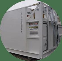 On tank installation of smartfill fuel management system