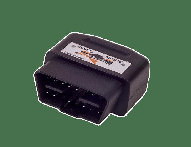 SmartFill OBD Telematics module for automatic Odometer or hourmeter recording.