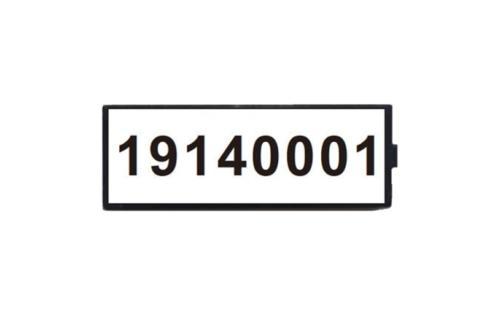 Ceramic smart tag for automatic vehicle identification