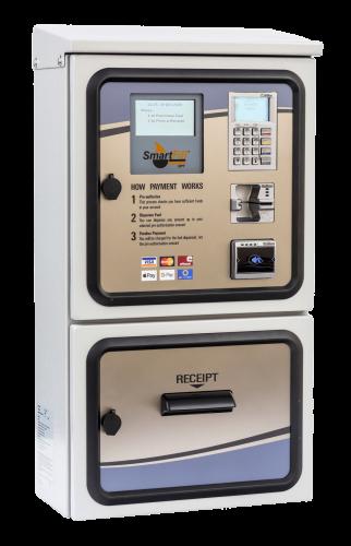SmartFill outdoor payment terminal